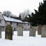 Manuden churchyard