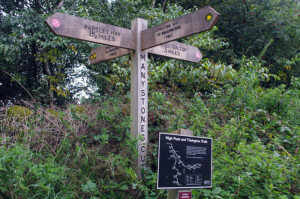 Crossing the Tissington Trail