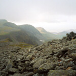looking back to Cadair Idris