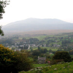 Dolwyddelan with Moel Siabod beyond