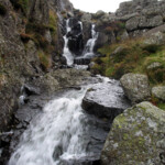 The outflow of Llyn y Foel on Moel Siabod