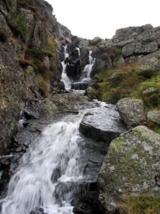 outflow of Llyn y Foel