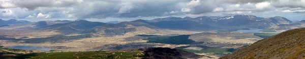 Panorama from Meall Buidhe
