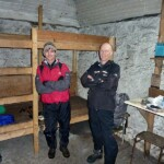 In Lairig Leacach bothy