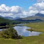 Gairich above Loch Poulary