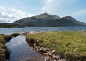 Slioch across Lochan Fada