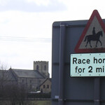 Horse warning