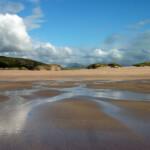 Sandwood Bay: beach