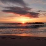 Sandwood Bay: sunset