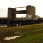 Darent flood barrier