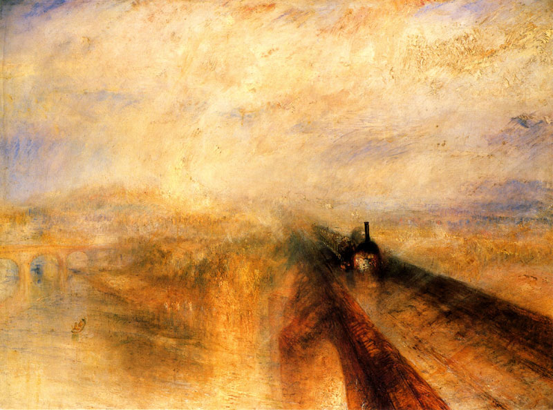 Turner's 'Rain, Steam and Speed'