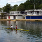 Oxford University boat houses