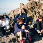 Author on Snowdon