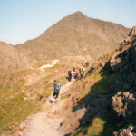 Pyg track with Snowdon behind