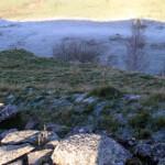 below Winshields Crags