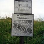 Stane Street sign