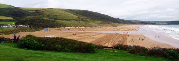 View south from Woolacombe