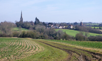 Approaching Thaxted
