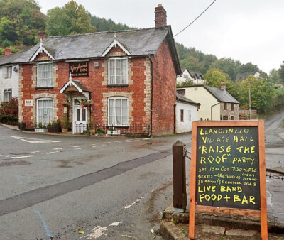 The Greyhound Inn at Llangunllo