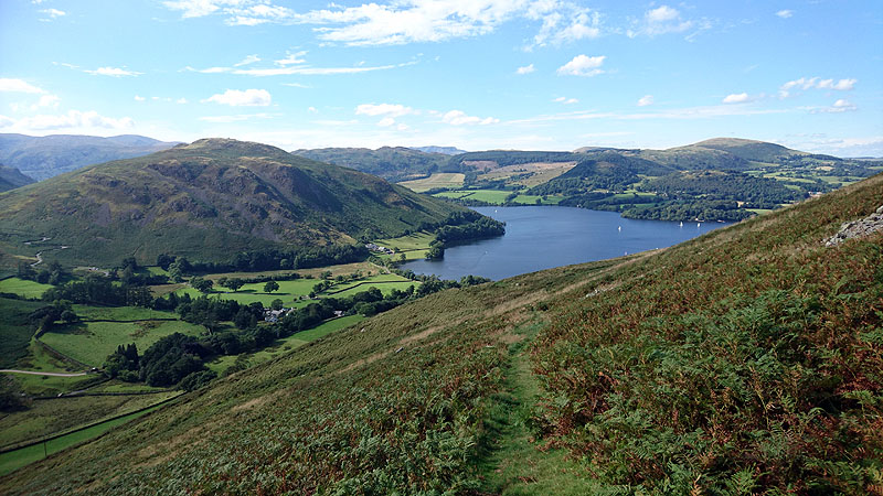 Descending to Ullswater