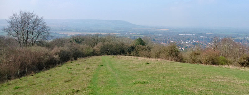 Descending from Whiteleaf Hill