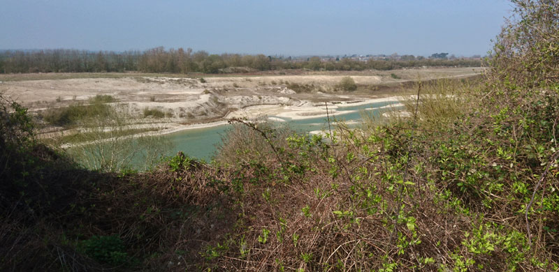 The old chalk pits