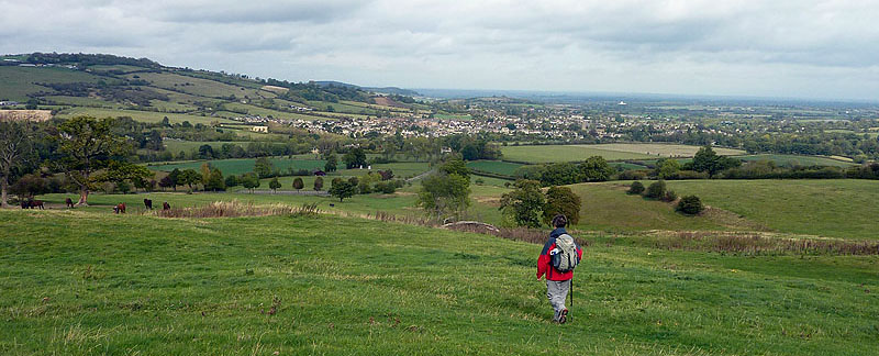 Approaching Winchcombe
