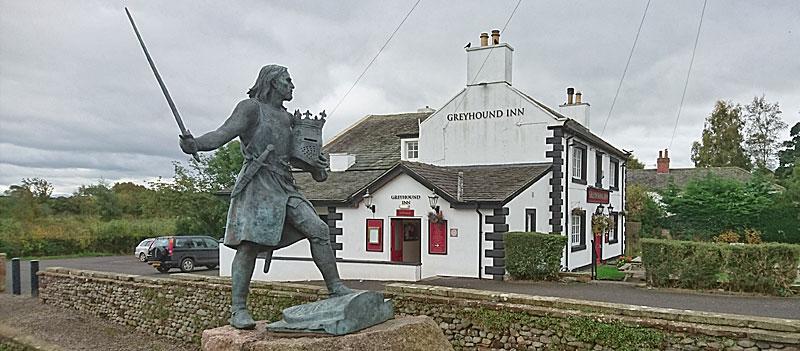 King Edward I statue