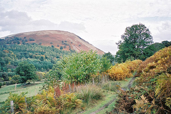 Dol-y-Fan hill